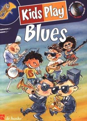 Kids Play Blues Jong Klass de / Kastelein Jaap Partition laflutedepan
