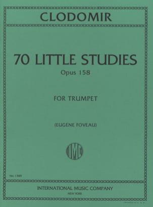 70 Little Studies, Opus 158 Pierre-François Clodomir laflutedepan