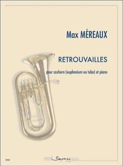 Retrouvailles Max Méreaux Partition Tuba - laflutedepan