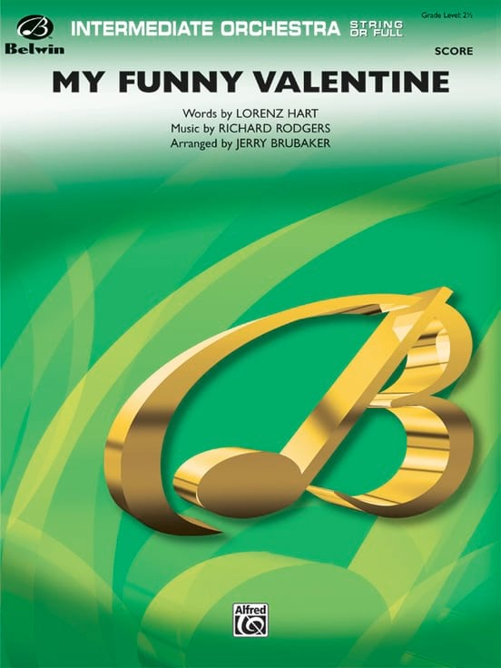 My Funny Valentine - Richard Rodgers - Partition - laflutedepan.com