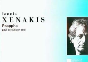 Psappha XENAKIS Partition Multi Percussions - laflutedepan