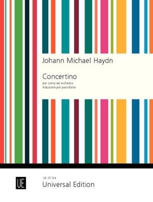 Concertino Per Corno Ed Orchestra Michael HAYDN Partition laflutedepan