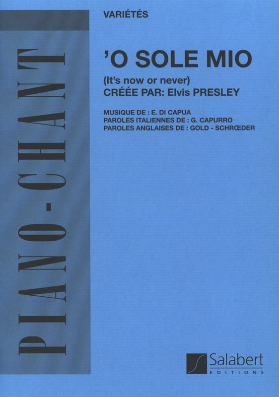 O Sole Mio - Di Capua Eduardo - Partition - laflutedepan.com