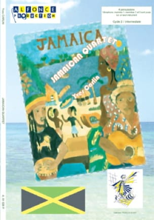 Jamaican quartet - Yves Carlin - Partition - laflutedepan.com