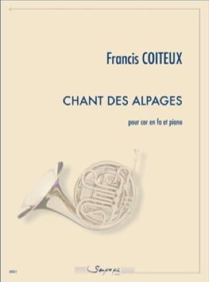 Chant des Alpages - Francis Coiteux - Partition - laflutedepan.com