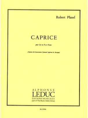 Robert Planel - Caprice - Partition - di-arezzo.co.uk