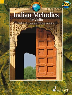 Indian Melodies candida Connolly Partition Violon - laflutedepan
