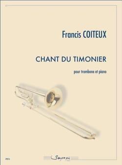 Chant du timonier Francis Coiteux Partition Trombone - laflutedepan