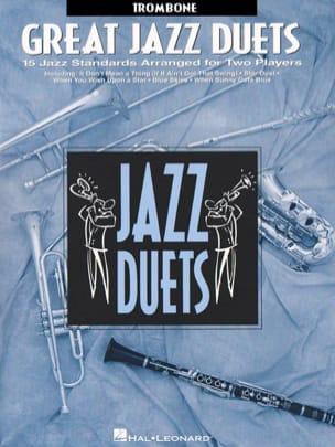 Great Jazz Duets Partition Trombone - laflutedepan