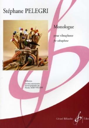 Monologue - Stéphane Pelegri - Partition - laflutedepan.com