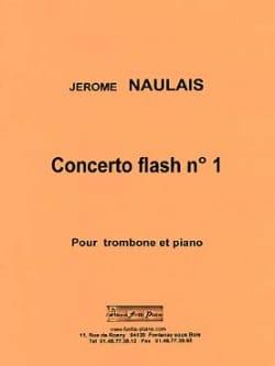 Concerto flash n° 1 Jérôme Naulais Partition Trombone - laflutedepan