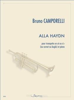 Alla Haydn Bruno Camporelli Partition Trompette - laflutedepan