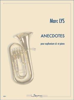 Anecdotes Marc Lys Partition Tuba - laflutedepan