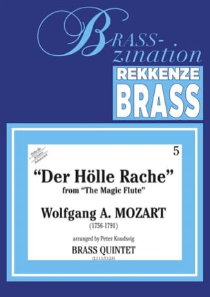 Der Holle Rache From The Magic Flute MOZART Partition laflutedepan