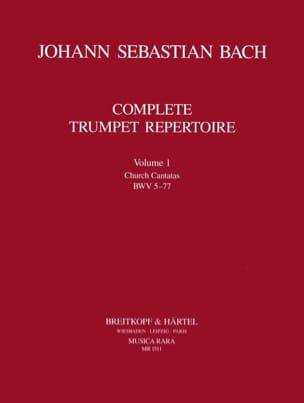 Complete Trumpet Repertoire Volume 1 BACH Partition laflutedepan