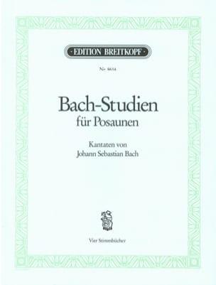 Bach-Studien Kantaten BACH Partition Trombone - laflutedepan