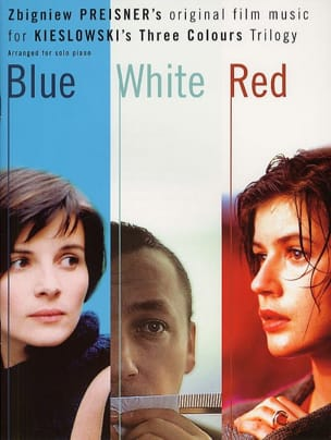 Blue / White / Red - Zbigniew Preisner - Partition - laflutedepan.com