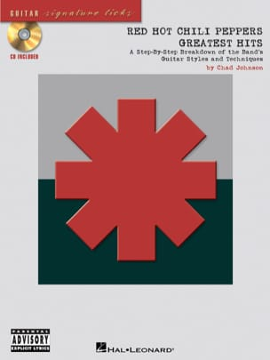 Greatest Hits Signature Licks Red Hot Chili Peppers laflutedepan