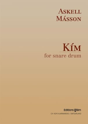 Kim For Snare Drum Askell Masson Partition laflutedepan