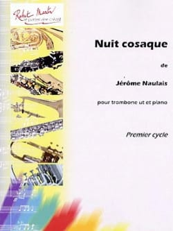 Nuit Cosaque Jérôme Naulais Partition Trombone - laflutedepan