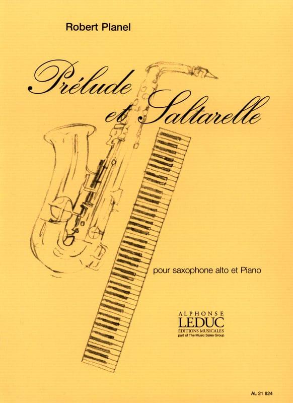 Prélude Et Saltarelle - Robert Planel - Partition - laflutedepan.com