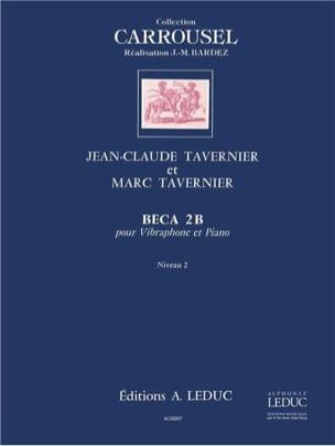 Beca 2 b TAVERNIER Partition Vibraphone - laflutedepan