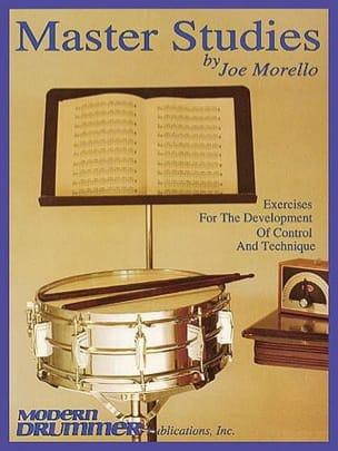 Master Studies Joe Morello Partition Caisse-claire - laflutedepan