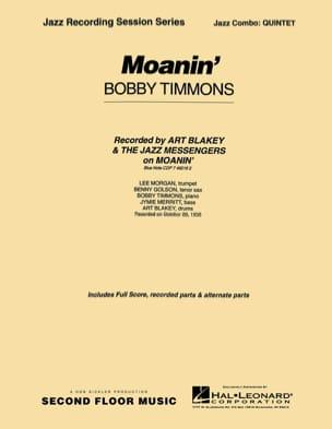Moanin' Bobby Timmons Partition ENSEMBLES - laflutedepan