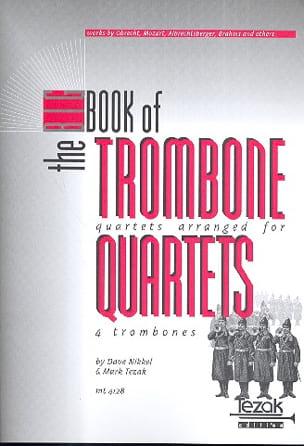 The Big Book Of Trombone Quartet Partition Trombone - laflutedepan