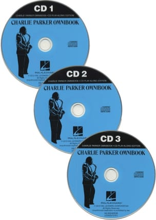 CD Play-along edition - Charlie Parker Omnibook avec 3 CDs laflutedepan