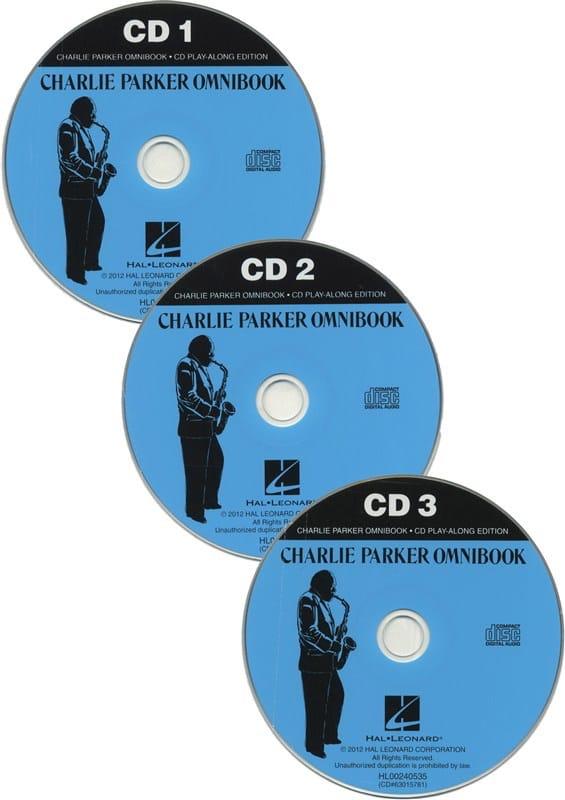 CD Play-along edition - Charlie Parker Omnibook avec 3 CDs - laflutedepan.com