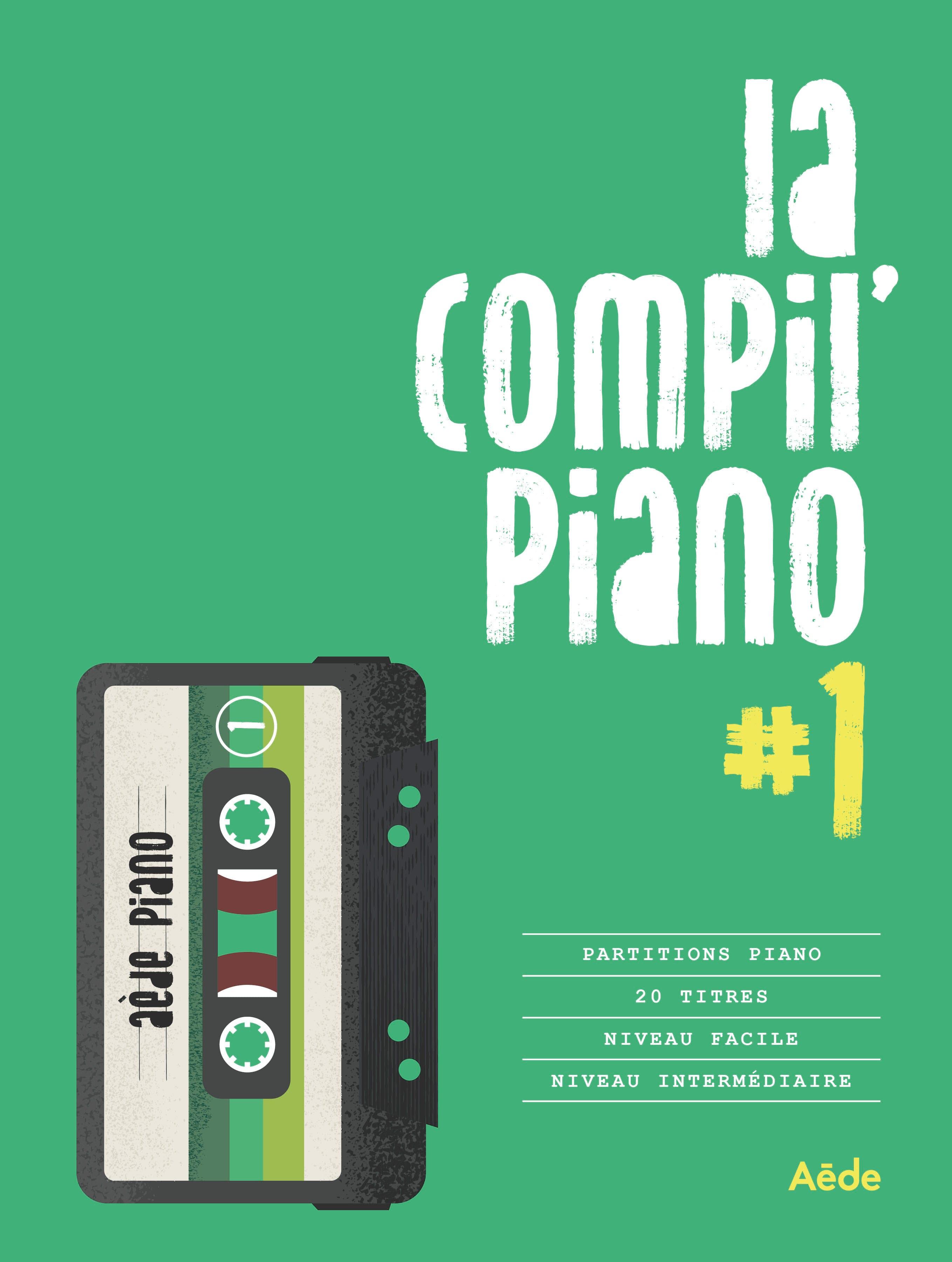 La Compil Piano #1 - Partition - laflutedepan.com