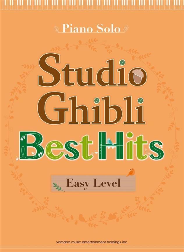 Studio Ghibli Best Hits - Easy Piano - Joe Hisaishi - laflutedepan.com
