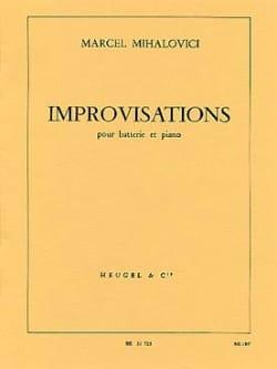 Improvisation Marcel Mihalovici Partition Batterie - laflutedepan