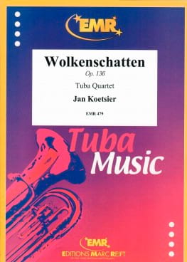 Wolkenschatten Opus 36 Jan Koetsier Partition Tuba - laflutedepan