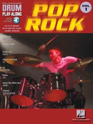 Drum play-along volume 1 - Pop Rock Partition laflutedepan
