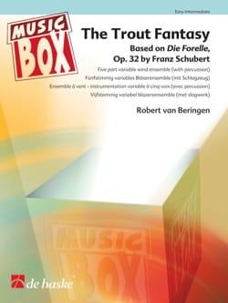 The trout fantasy - music box SCHUBERT Partition laflutedepan