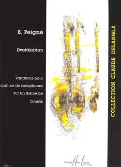Dvorakarian Bertrand Peigné Partition Saxophone - laflutedepan