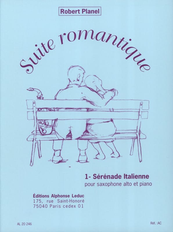 Suite Romantique Volume 1 - Sérénade Italienne - laflutedepan.com