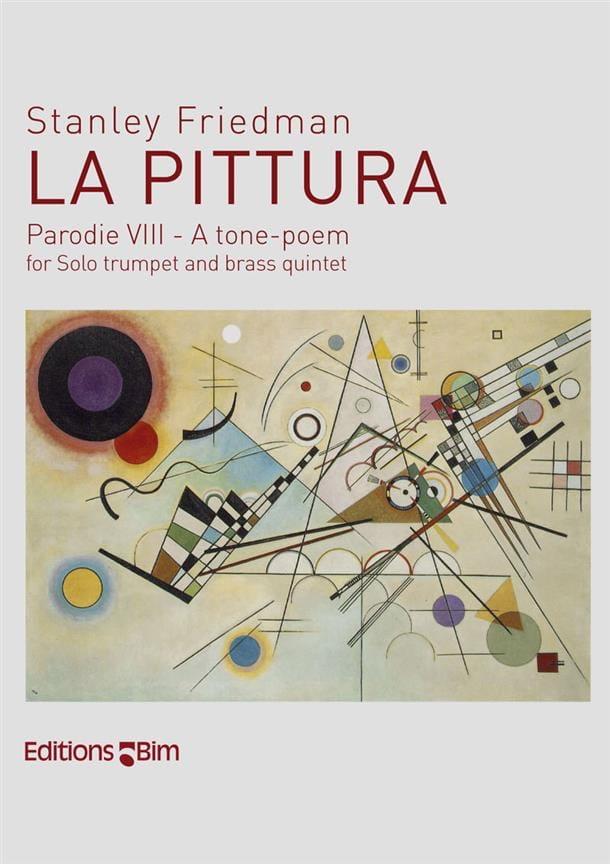 La Pittura - Stanley Friedman - Partition - laflutedepan.com