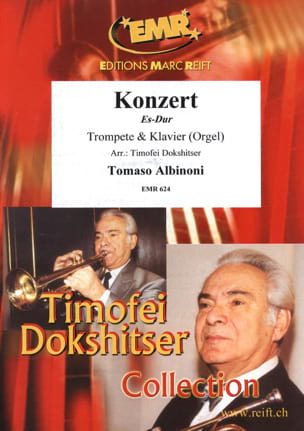 Concerto en Mib Majeur ALBINONI Partition Trompette - laflutedepan