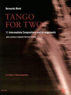 Tango for Two Partition Saxophone - laflutedepan