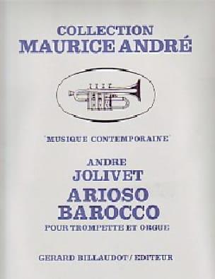 Arioso Barocco - André Jolivet - Partition - laflutedepan.com
