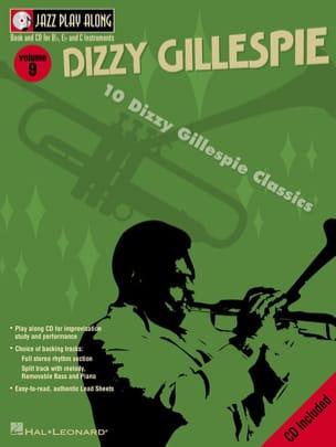 Jazz play-along volume 9 - Dizzy Gillespie laflutedepan