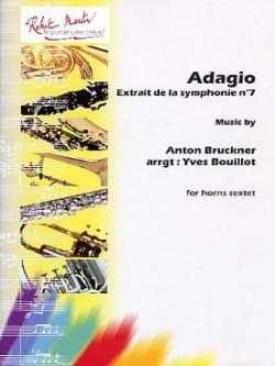 Adagio BRUCKNER Partition Cor - laflutedepan