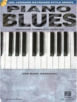 Piano blues - Edition française Mark Harrison Partition laflutedepan