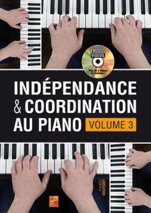 Indépendance & Coordination Au Piano - Volume 3 laflutedepan