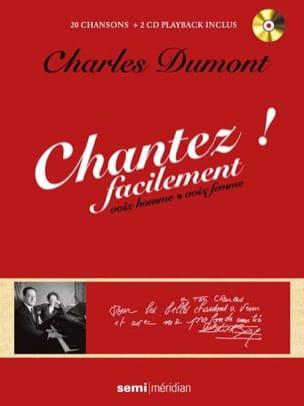 Charles Dumont / Edith Piaf - Canta fácilmente - Charles Dumont - Partition - di-arezzo.es