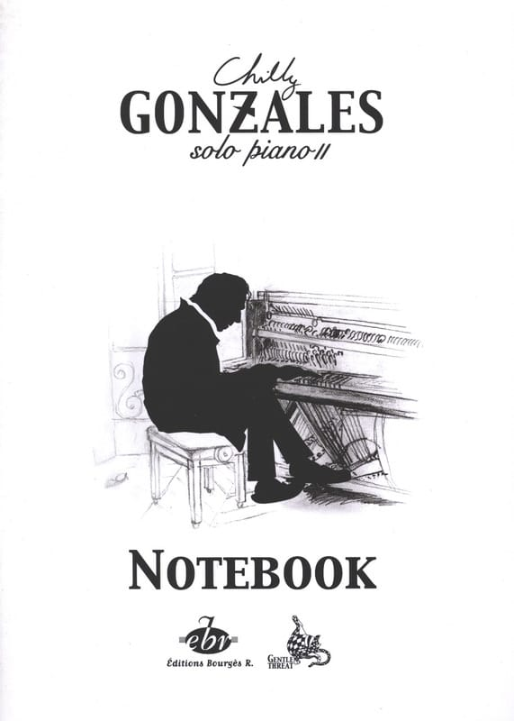 NoteBook Solo Piano II - Chilly Gonzales - laflutedepan.com