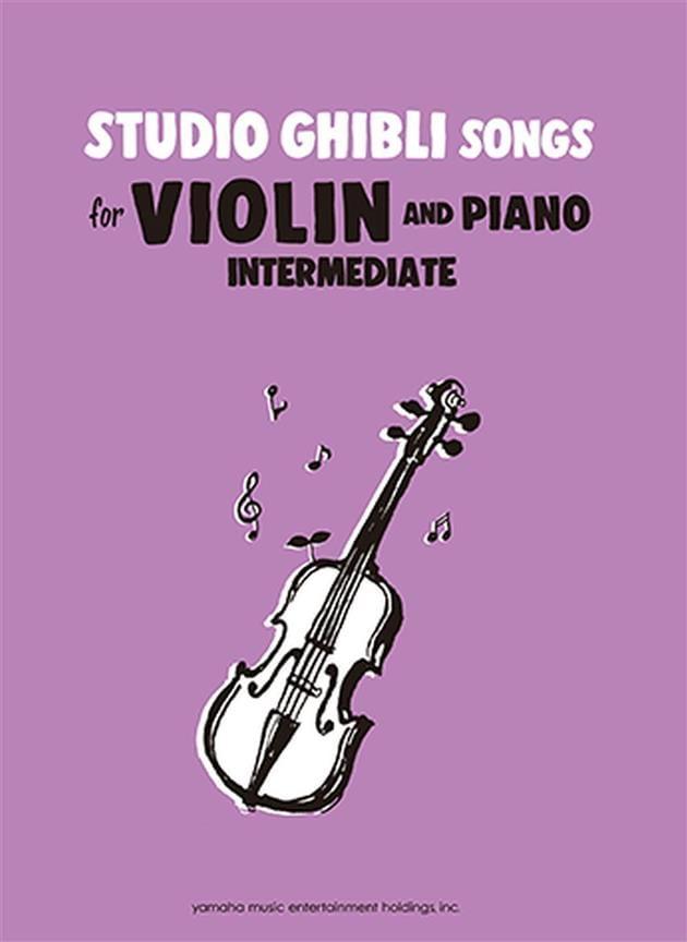 Studio Ghibli Songs for Violin Intermediate - laflutedepan.com